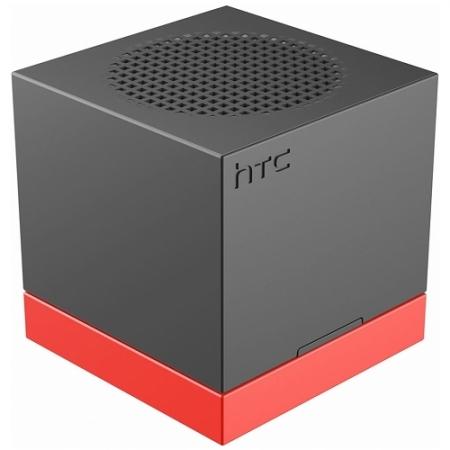 HTC BoomBass - Boxa portabila NFC, Bluetooth, Negru/Rosu