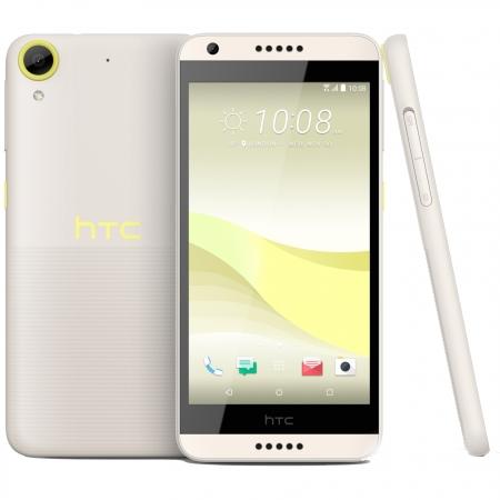 HTC Desire 650 - 5'', Single Sim, Quad-Core, 16 GB, 2GB RAM, 4G - Lime Light