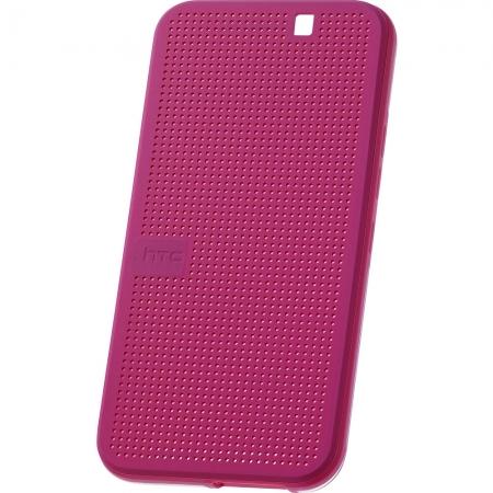 HTC HC M232 - husa Dot View pentru HTC ONE M9 - roz
