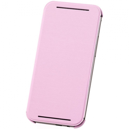 HTC HC V941 - Husa flip pentru HTC ONE M8 - Roz