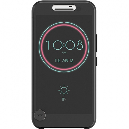 HTC Ice View - Husa Agenda pentru HTC 10 - Negru