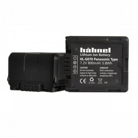 Hahnel Acumulator HL-G070 replace Panasonic tip VW-VBG070/130/260 800mAh