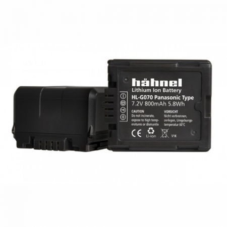Hahnel Acumulator HL-G070 replace Panasonic tip VW-VBG070/130/260 800mAh RS125019029