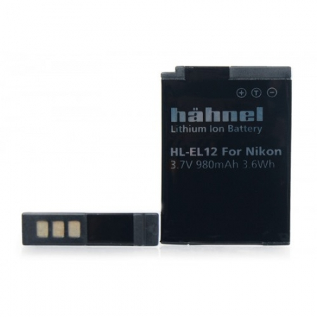 Hahnel HL-EL12 - Acumulator replace tip Nikon EN-EL12  12 3.7V, 980Ah, 3.6Wh