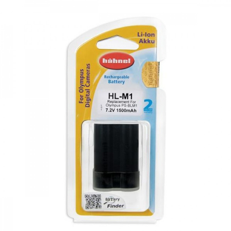 Hahnel HL-M1- acumulator replace tip Olympus PS-BLM1 1500mAh