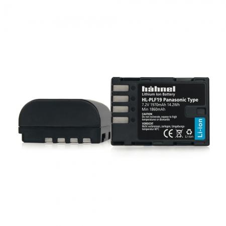 Hahnel HL-PLF19 - Acumulator replace pt Panasonic DMW-BLF19 - 7.2 V, 1630 mAh, 11.7Wh