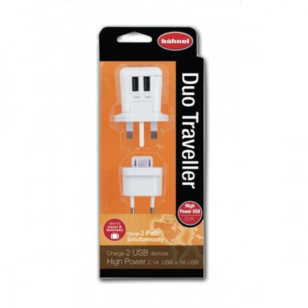 Hahnel incarcator telefon / tableta Duo Traveller USB 2.1A