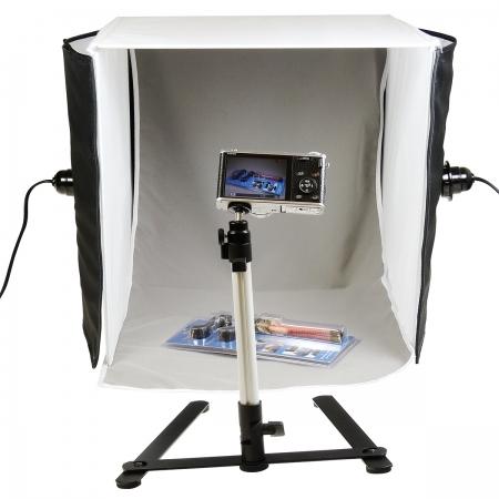 Hakutatz SSL-735 22W - cub foto 40cm cu 2 lumini si suport iphone RS125011409