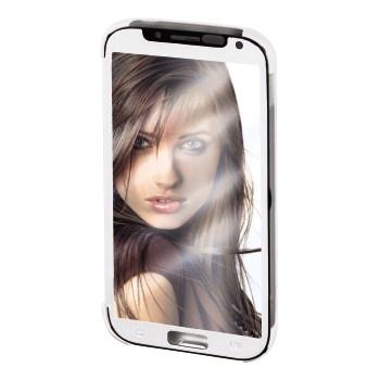 """Hama Booklet """"Mirror"""" - husa de protectie Samsung Galaxy S4 - alb"""