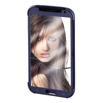 """Hama Booklet """"Mirror"""" - husa de protectie Samsung Galaxy S5 - albastru"""