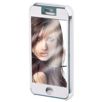 "Hama Booklet ""Mirror"" - husa de protectie iPhone 5/5s - alb"