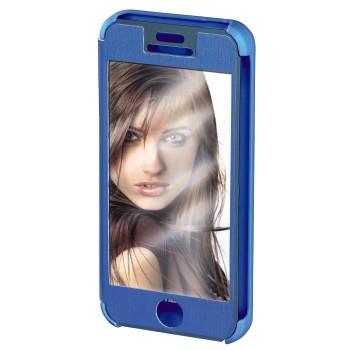 "Hama Booklet ""Mirror"" - husa de protectie iPhone 5/5s - albastru"