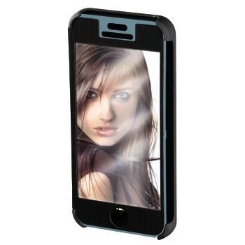 """Hama Booklet """"Mirror"""" - husa de protectie iPhone 5/5s - negru"""