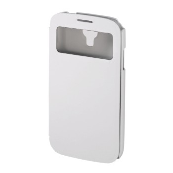 """Hama Booklet """"Window"""" - husa de protectie Samsung Galaxy S4 - alb"""