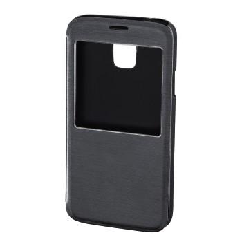 """Hama Booklet """"Window"""" - husa de protectie Samsung Galaxy S5 - antracit"""