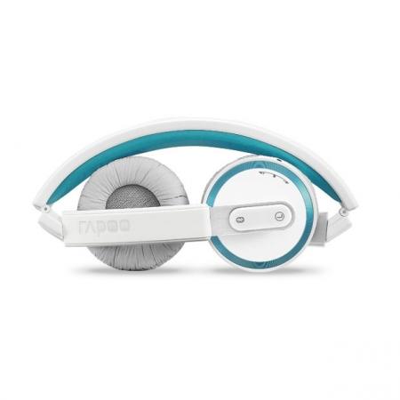 Rapoo H6080 - casti bluetooth stereo pliabile - albastru