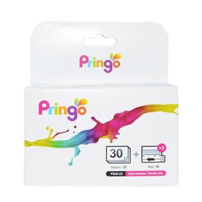 HiTi PRINGO P231 - hartie si ribbon pentru 30 de imprimate - silver