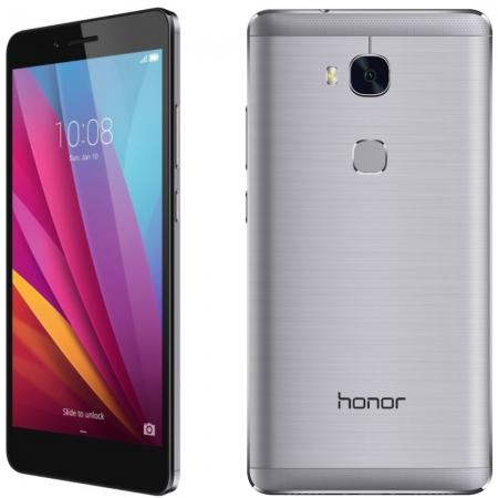 Honor 5X - 5.5'', Dual SIM, Octa Core, 2 GB RAM, 16GB, LTE - Gri
