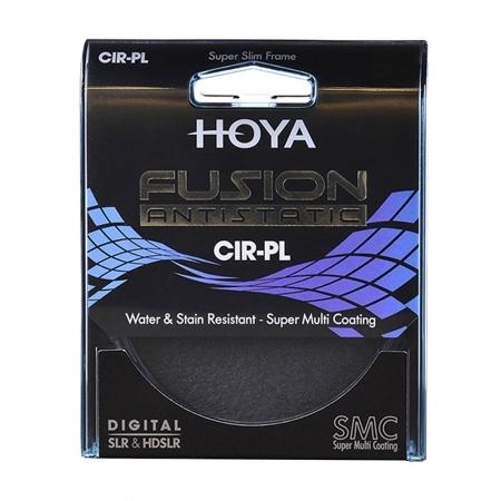 Hoya FUSION Antistatic - Filtru Polarizare Circulara 58mm
