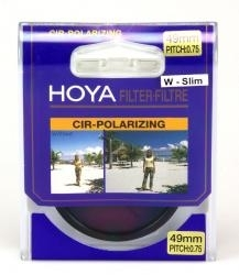 Hoya Filtru Polarizare Circulara W-Slim 49mm RS101049