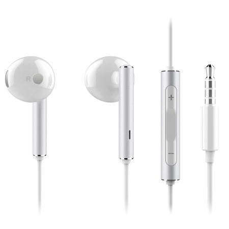 Huawei AM116 - Casti audio, Stereo, Alb