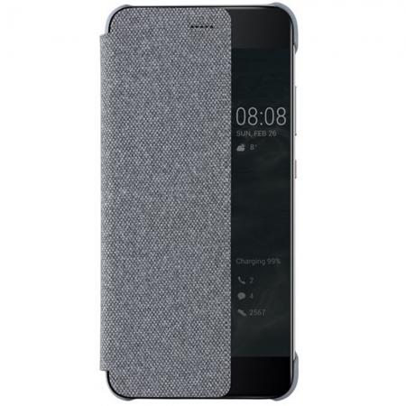 Huawei P10 - Husa tip Smart View Cover - Gri deschis