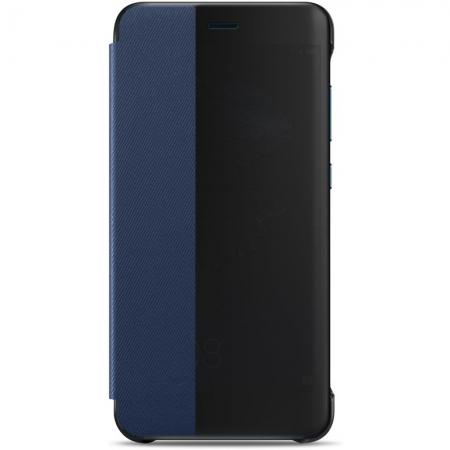 Huawei P10 Lite - Husa Flip tip Smart View Cover - Albastru