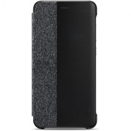 Huawei P10 Lite - Husa Flip tip Smart View Cover - Gri deschis