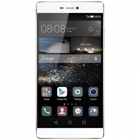 Huawei P8 - 5.2'', Single SIM, Octa-Core, 3GB RAM, 16GB, 4G - Champagne Gold