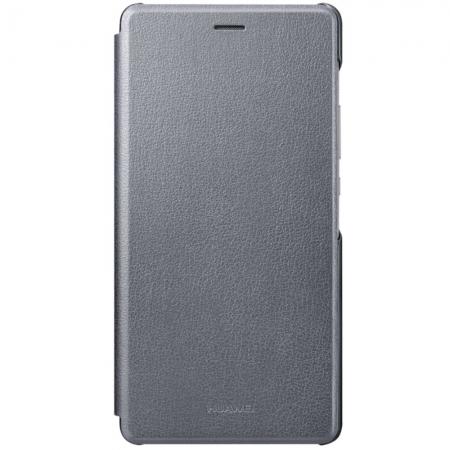 Huawei P9 Lite - Husa tip Flip Cover - Gri