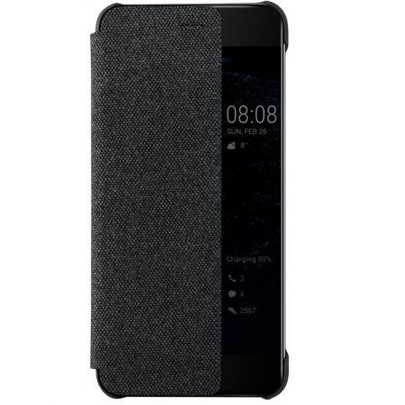 Huawei Flip Smart View Cover - Husa de protectie pentru Huawei P10 - Dark Gray