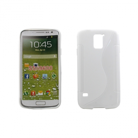 Husa My-Jelly Samsung Galaxy S5 G900 Alb