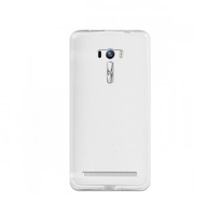 Husa de protectie Slim TPU pentru Asus Zenfone Selfie ZD551KL, Transparenta