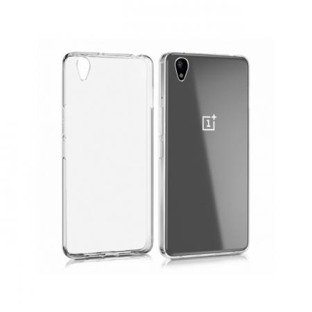 Husa de protectie Slim TPU pentru OnePlus X, Transparenta