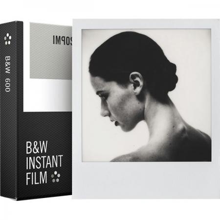 Impossible Film B&W Gen 2.0 pentru Polaroid 600