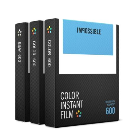 Impossible Film Pachet triplu pentru Polaroid 600 (2x4514, 1x4516)