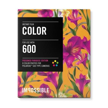 Impossible PRD3289 Poisoned Paradise Edition - Fuchsia - film instant Polaroid 600