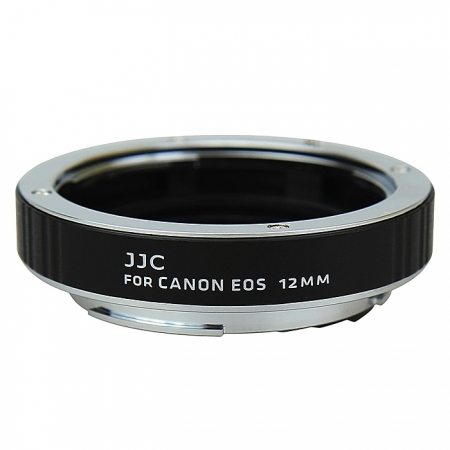 JJC AET-C12 - Inel macro pentru Canon, 12mm