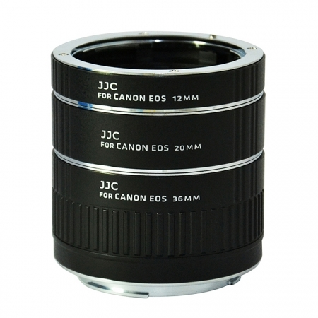 JJC AET-CS - Set tuburi extensie pentru Canon (12mm, 20mm, 36mm)
