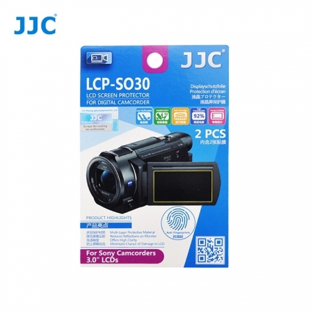 JJC - Folie protectie LCD pentru Camere Video Sony, 3.0