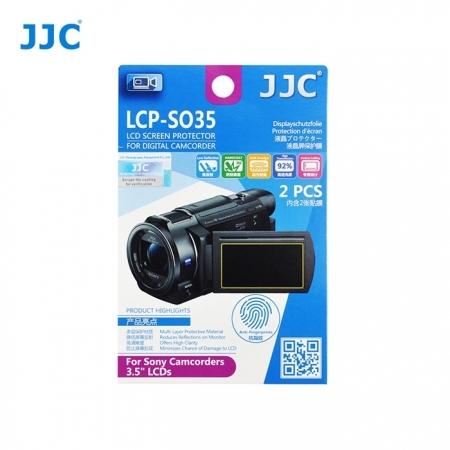 JJC - Folie protectie LCD pentru Camere Video Sony, 3.5