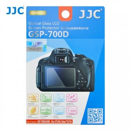JJC - Folie protectie LCD pentru Canon EOS 700D/ 650D, Kiss X7i/ X6i, Rebel T5i/ T4i, 2 buc.