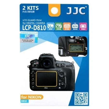 JJC - Folie protectie LCD pentru Nikon D810/ D810A, 2 buc.