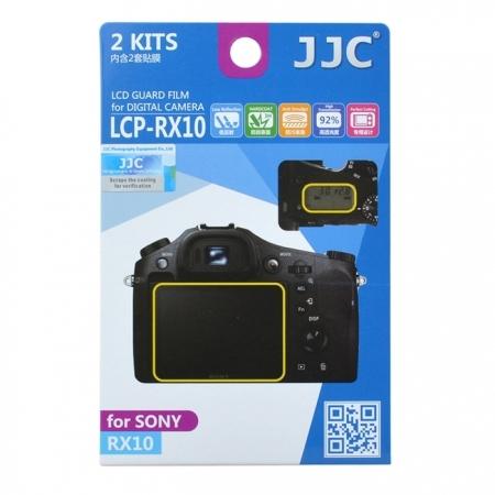 JJC - Folie protectie LCD pentru Sony RX10, RX10M2, 2 buc.