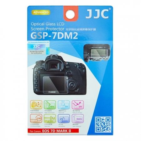 JJC Folie protectie ecran sticla optica pentru Canon EOS 7D Mark II