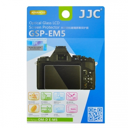 JJC Folie protectie ecran sticla optica pentru Olympus OM-D E-M5