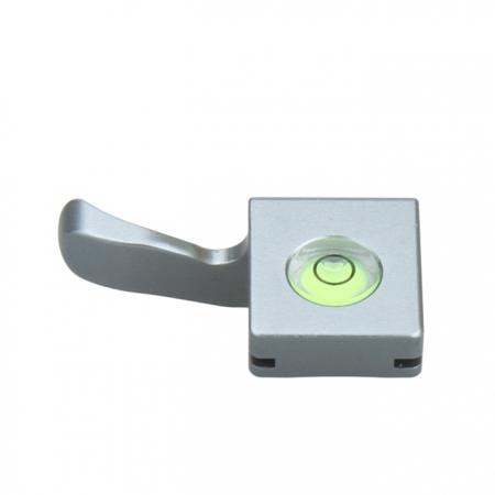JJC TA-X100 - Grip deget cu bula nivel pentru Fujifilm X100 (argintiu)