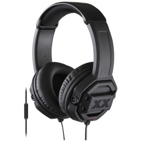 JVC Extreme-Explosive - Casti stereo - negru HA-MR60XE