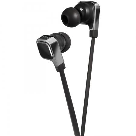 JVC HA-FR65S - Casti stereo cu microfon seria ESNSY - negru