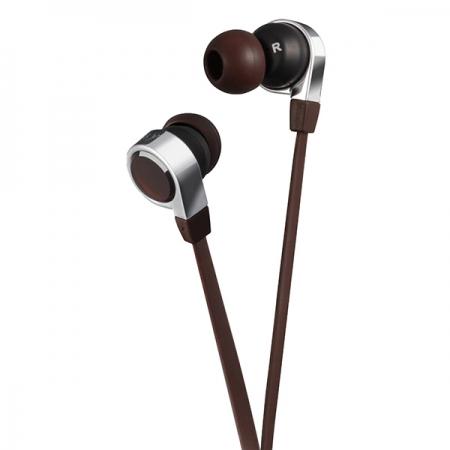 JVC HA-FX45S - Casti stereo seria ESNSY compatibile cu iPhone - maro